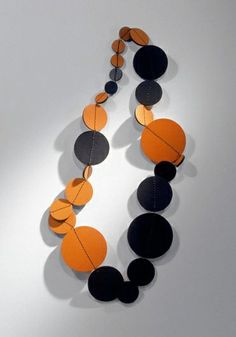leather necklace, by Petra Besomi, 2000 picture by Marie Clerin
