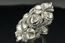 Georgian Style 1.79 Carat Rose Cut Diamond Ring, $999.00