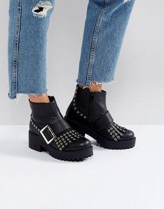 Discover Fashion Online Schuh Stiefel, Damen Schuhe, Winterwohnungen,  Winter Schneeschuhe, Klobige Stiefel 03c8ab0219
