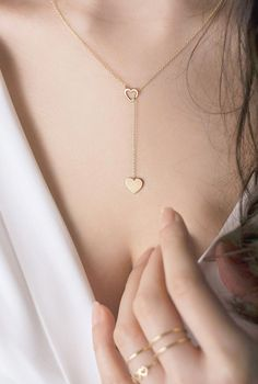 Baguette Diamond Pendant in Solid Gold / Diamond Necklace / Round Disc Pendant with Baguette / Gold Necklace / Birthday Gift for Her Dainty Jewelry, Cute Jewelry, Gold Jewelry, Jewelry Accessories, Women Jewelry, Jewelry Design, Dainty Earrings, Gold Bracelets, Silver Earrings