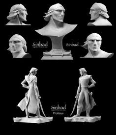AndreasBlasich-Sculpts-6 ✤ || CHARACTER DESIGN REFERENCES | キャラクターデザイン • Find more at https://www.facebook.com/CharacterDesignReferences if you're looking for: #lineart #art #character #design #illustration #expressions #best #animation #drawing #archive #library #reference #anatomy #traditional #sketch #development #artist #pose #settei #gestures #how #to #tutorial #comics #conceptart #modelsheet #cartoon || ✤