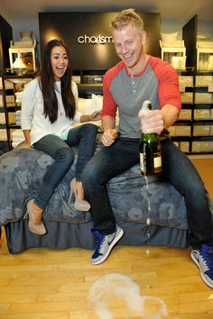 Sean Lowe and Catherine Giudici Talk Kids: When and How Many
