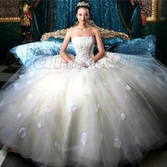 princess style wedding dress  ... -princess-wedding-dress-the-wedding ...