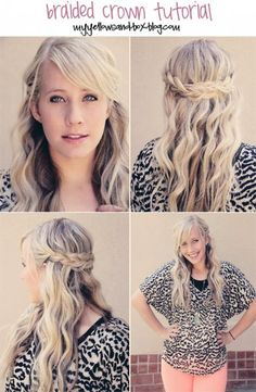 5 easy hairstyles YOU can do!