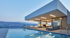 Villa Saint Antoine - Authentic Crete, Villas in Crete, Holiday Specialists Crete, Anton, Saints, Villa, Glass Doors, Mansions, House Styles, Outdoor Decor, Bedrooms