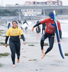 Our instructors are just as stoked as you are to be out in the surf, book lessons now for September while our 10% off sale is still going strong 🏄 ____________________________________ San Diego Surf School San Diego, CA . 🌐 Website: www.sandiegosurfingschool.com 📸: @nikpicslife . ☎️ PB Phone: (858) 205-7683 ☎️ OB Office: (619) 987-0115 . #SanDiegoSurfSchool How To Get Better, Learn To Surf, Get Well, San Diego, Things To Do, Surfing, School, Things To Make, Surf
