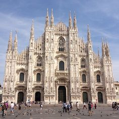Milan Duomo - One of the most BEAUTIFUL Cathedrals I have ever seen!!