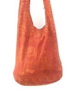 Shoulder Bag Cross Body Bag Handmade Bag Elephant Bag Hobo Crossbody Bag Hippie Boho bohemian bag Purse Gift / Brown Color Sling bag by Avivahandmade on Etsy