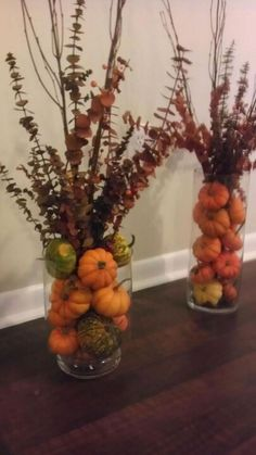 Pumpkin Vase, Mini Pumpkins, White Pumpkins, Fall Pumpkins, Autumn Decorating, Decorating Ideas, Pumpkin Decorating, Deco Floral, Fall Mantel Decorations