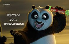 Awesome quotes from kunfu panda