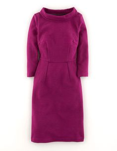 Zoe Dress WH717 Smart Day Dresses at Boden