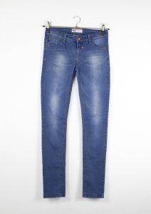Second Hand Denim Jeans, Slim-Fit, 8,00€
