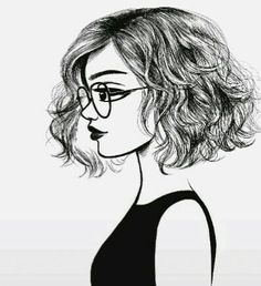 "Portrait noir et blanc If I draw ""Holly"" ""Elizabeth"" and myself all facing that way."
