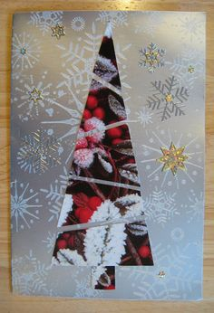 Quick Recycled Christmas Cards