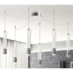 Settecento Multi Light Suspension | Av Mazzega at Lightology