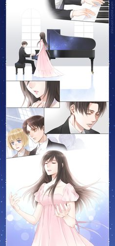 Shingeki no Kyojin | Rivamika Modern AU | Tumblr