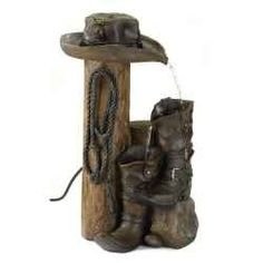 Western Themed Water Fountain