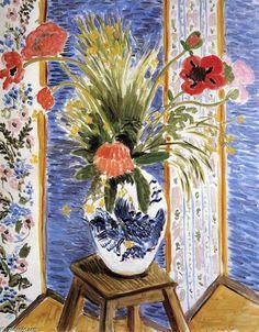 """papoilas"", óleo sobre tela por Henri Matisse (1869-1954, France)"