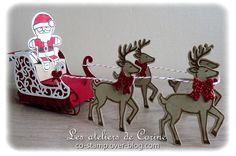 Stampin'Up Santa's sleigh - Traîneau de Noël