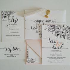 Jenna Rainey // Mon Voir Garden Invitation Suite design
