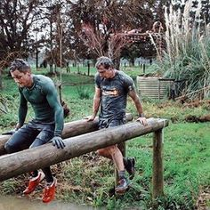 Team obstacle course racing male athletes Matakana X Run Auckland New Zealand ~ Ascend Fit Liam & Scotty Male Athletes, Obstacle Course Races, Auckland New Zealand, Athletic Men, Strength, Challenges, Racing, Fitness, Instagram
