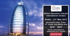 Global Education Interact International 2017 is one of the largest global education fair in Dubai bringing students in UAE region and the world's top ranking universities and educational institutions on one platform for a detailed information exchange on overseas education. Read on to know more about it.