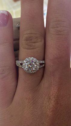 Round Costco engagement ring