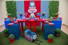 Little Wish Parties | Thomas The Tank Engine Party | https://littlewishparties.com