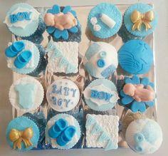 Kraamfeest cupcakes