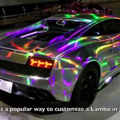 The Paintjob On This Japanese Lamborghini Will Blow Your Mind