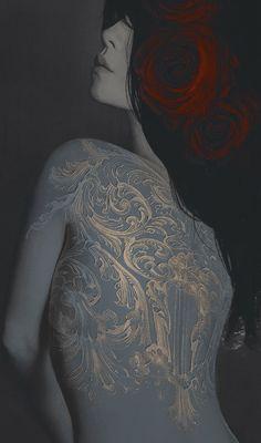 ☆ Mending Heart -Detail- Artist Leslie Ann O'Dell ☆