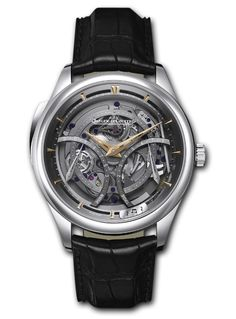 00970c38eca6 Jeager Le Coultre Master Grande Tradition   Minute Repeter Titanium 15 Day  PR Hand wound Available at Cellini Jewelers