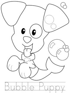 Bubble Puppy Coloring Pages Search Results Bubble Guppies Printable Coloring