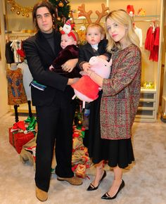 Thomas Cohen and Peaches Geldof and sons