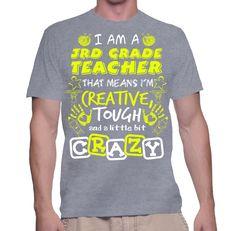 I Am A 3rd Grade Teacher T-Shirt