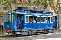 Tranvia Blau  Tibidabo,  Barcelona  España