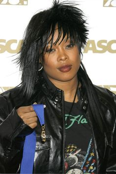 """Da Brat (Shawntae Harris) (b.1974) is an American Grammy-nominated rapper and actress. Her debut album, Funkdafied (1994), sold one million copies, making her the 1st female solo rap act to have a platinum-selling album, and the 2nd overall female rap act (solo or group) after Salt N Pepa. She made a comeback in 2005 when she was featured on the remix to the song """"I Think They Like Me."""" She did a remix with Kelly Rowland in 2011. She released her new single """"Is It Chu?"""" on iTunes in July…"""