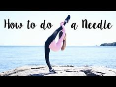 How to do a Needle / Straight Leg Scorpion - YouTube