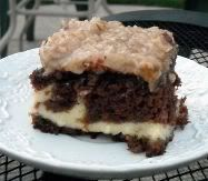 Try German Chocolate Cheesecake Cake! You'll just need 1 - oz package Duncan Hines German chocolate cake mix, prepared according to package directions. Discover our recipe rated by 46 members. Köstliche Desserts, Delicious Desserts, Dessert Recipes, Yummy Food, Healthy Food, Dinner Recipes, German Chocolate Cheesecake, Chocolate Cake Mixes, Chocolate Chocolate