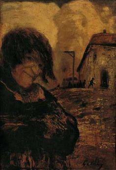 Gulácsy Lajos-Gwynplaine Mona Lisa, Artwork, Miraculous, Painting, Painting Art, Work Of Art, Auguste Rodin Artwork, Artworks, Paintings