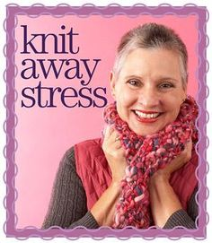 Try Knitting to Relieve Stress