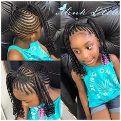 Toddler Braids Pictures toddler braided hairstyles with beads new natural Toddler Braids. Here is Toddler Braids Pictures for you. Toddler Braided Hairstyles, Toddler Braids, Lil Girl Hairstyles, Black Kids Hairstyles, Braids For Kids, Box Braids Hairstyles, Kid Braids, Children Hairstyles, Fancy Braids