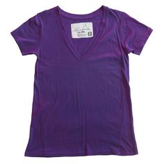 I know, I know, it's just a t-shirt. But it is the most bestest color purple ever and I still want it! Vneck Tee - Eclipse Purple