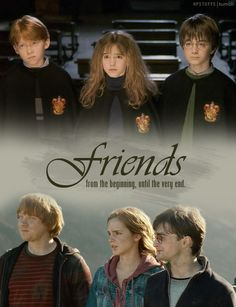 I love how close knit the three of them were... Such true friends that would do anything for each other.