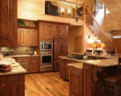 Contemporary Wooden Country Kitchen Cabinets Decor