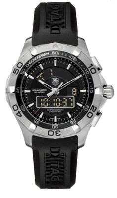 TAG Heuer Mens CAF1010FT8011 Aquaracer Chronotimer Watch ** More info could be found at the image url.Note:It is affiliate link to Amazon.