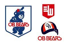 OB BEARS (formal name of Doosan bears) classic logo design World Baseball, Bears, Playing Cards, Logo Design, Names, Formal, Classic, Preppy, Derby