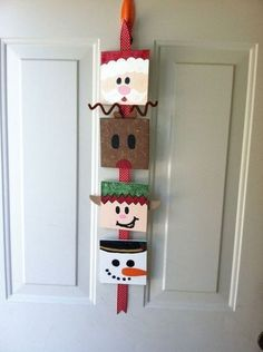 Christmas Door Decorations for School | Christmas Door Decoration ...