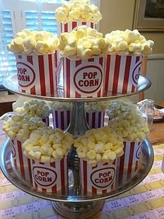 popcorn cupcakes with printable wrapper download