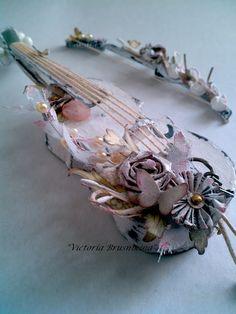 Altered Art- lovely instrument!